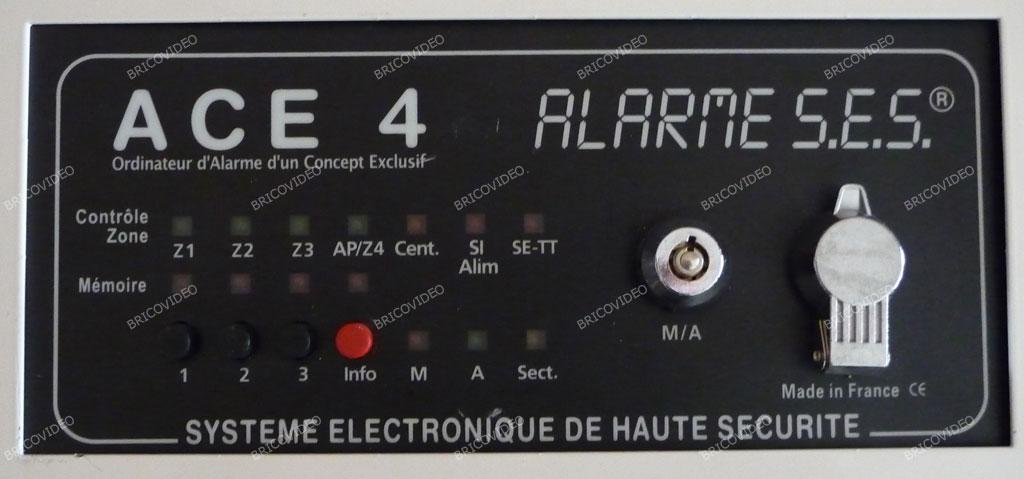 alarme S.E.S ACE 4.