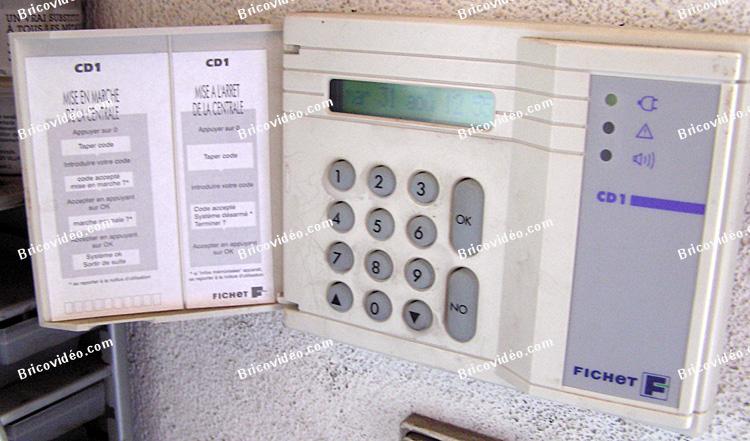 alarme fichet f135