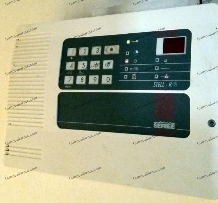 alarme Sériée ancien modèle Stell-R 110 CR 001