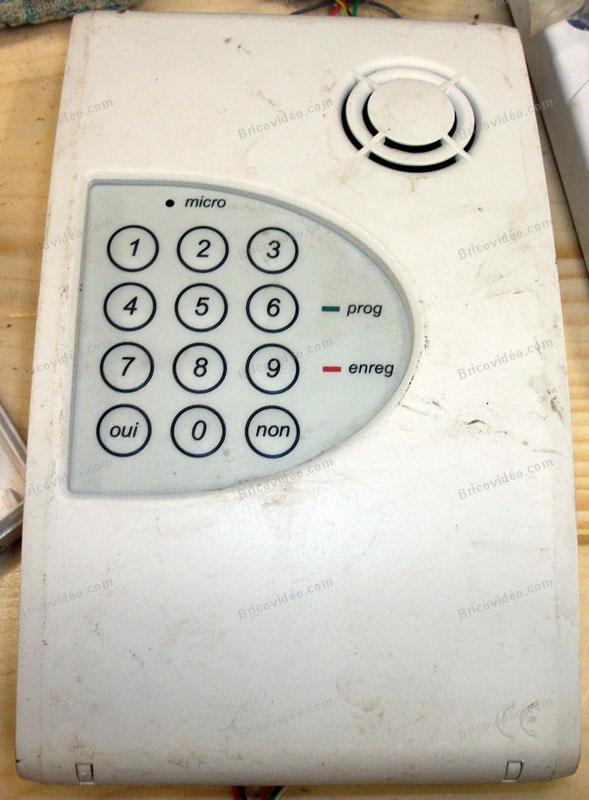 boitier téléphone alarme Guardall