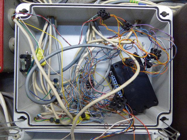 gros bazar câblage alarme
