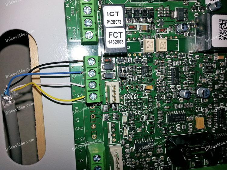 câblage claviers en parallèle alarme Galaxy GD48