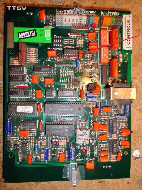 carte transmetteur alarme tt5v