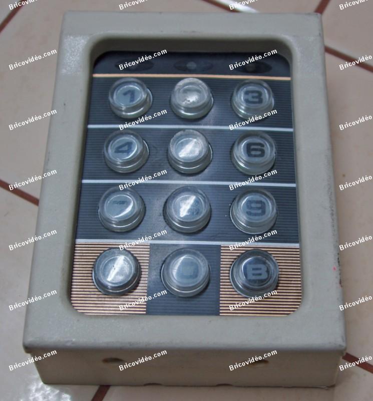 clavier alarme 4