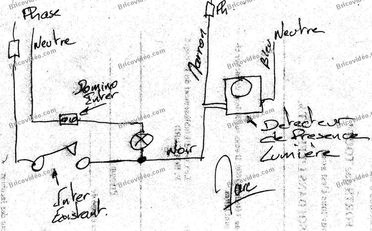 panne syst me d 39 alarme branchement d tecteur mouvement. Black Bedroom Furniture Sets. Home Design Ideas