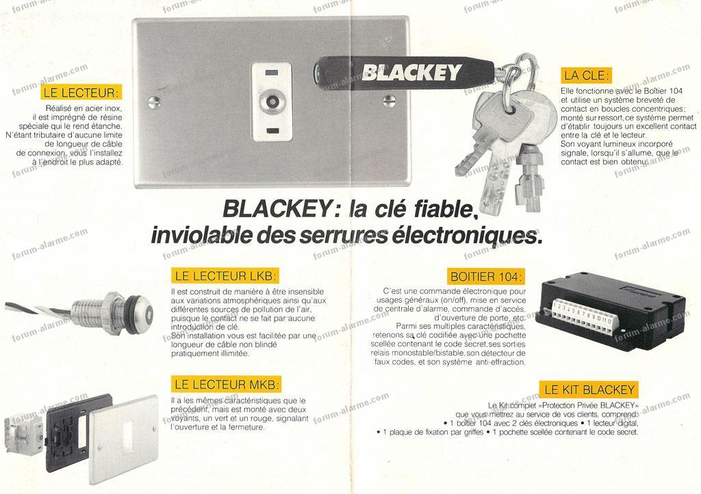 documentation boîtier Blackey