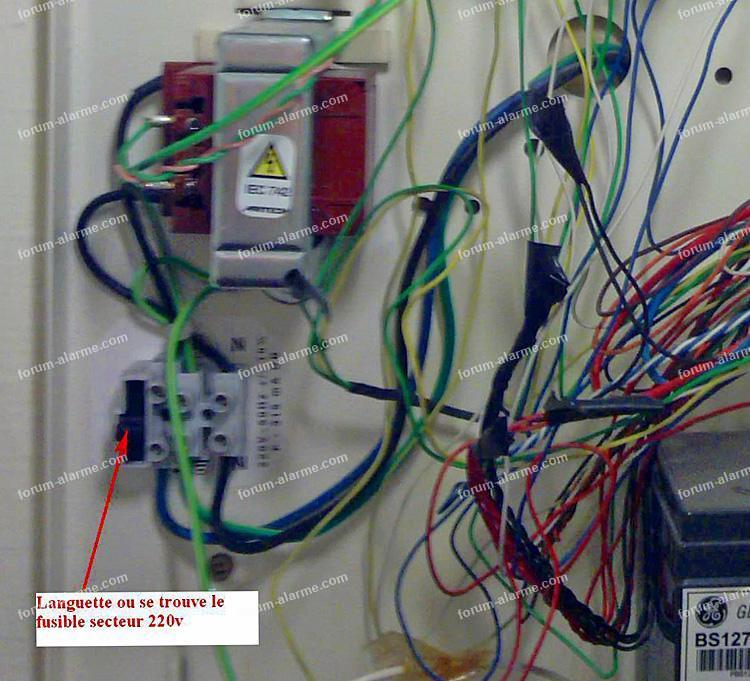 fusible alarme Aritech CD34
