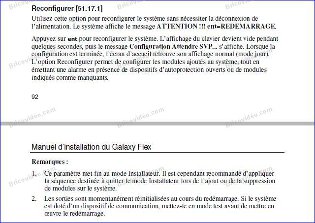 galaxy flex 20 explication