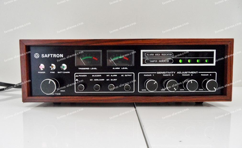 identifier appareil d'un système d'alarme