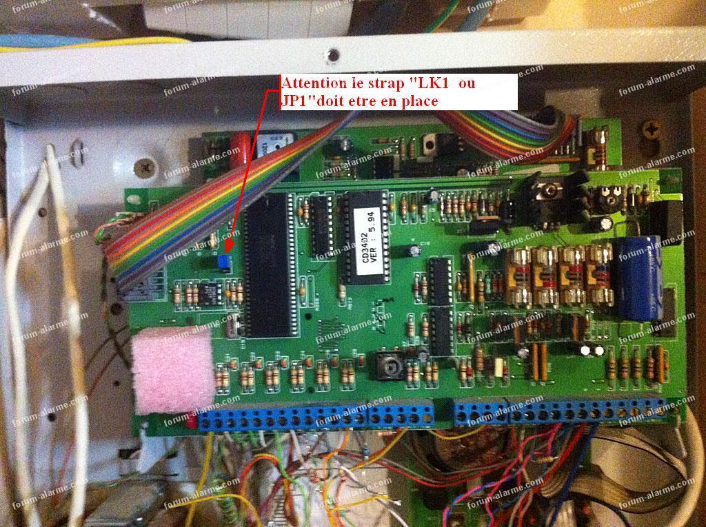 modifier clavier alarme cd34