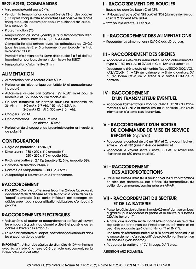notice alarme topasic 3g page 2