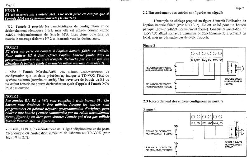 notice transmetteur TRvox 4