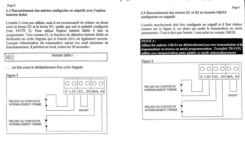 notice transmetteur TRvox 5