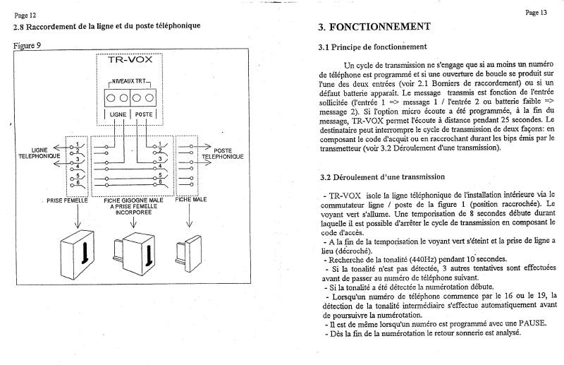 notice transmetteur TRvox 7