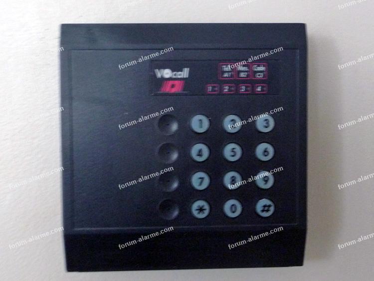parametrage alarme fichet 1