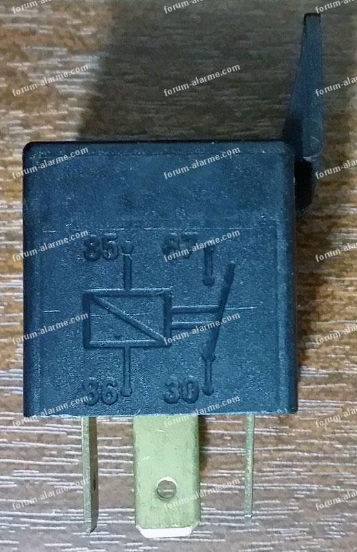 photo du relais alarme