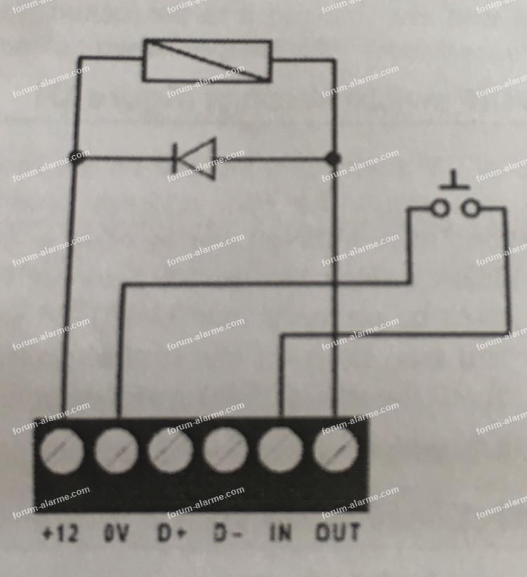 raccorder clavier ATS1110