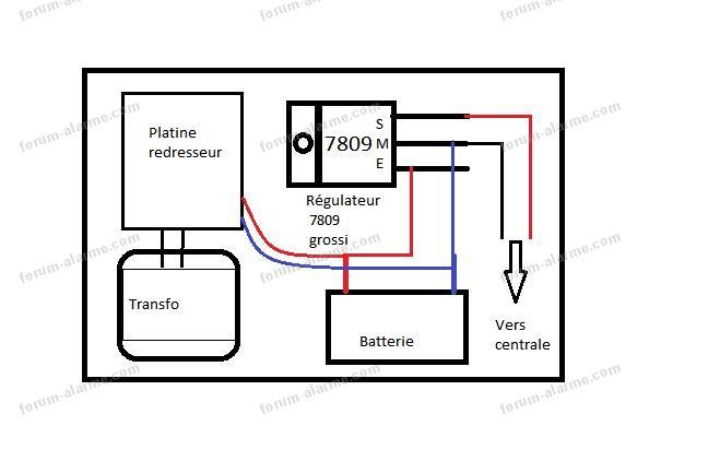 régulateur de tension type 7809