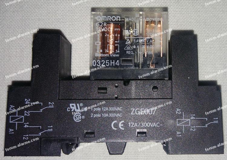 relais 12 Volts Omron G2r-2